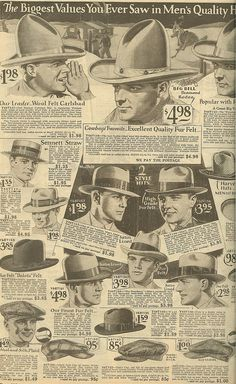 1929 Men's Fashions | Project 1929 | LibraryThing