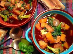 Tofu and chickpea stew – Simply Vegelicious