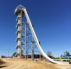 Take a Trip Down the Verruckt, the World's Tallest Water Slide