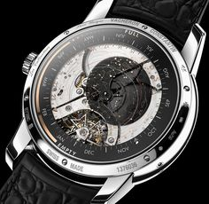 The new Vacheron Constantin Les Cabinotiers Celestia Astronomical Grand Complication 3600 watch for SIHH 2017 with images, price & specs. Vacheron Constantin, Skeleton Watches, Cool Watches, Unique Watches, Cheap Watches, Elegant Watches, Casual Watches, Seiko Watches, Luxury Watches For Men