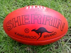 Sherrin is the official game ball of the Australian Football League. Australian Gifts, Australian Actors, Cricket, Australian Football League, Nowhere Boy, Stl Cardinals, Love My Kids, Rugby, Weekend Fun