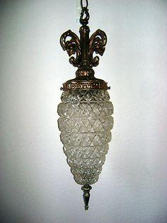 Vintage pineapple chandelier