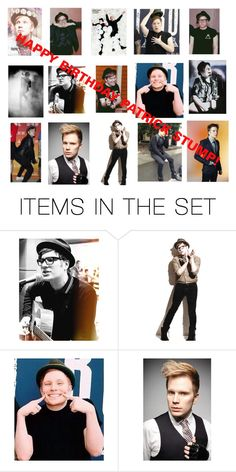 """""""Happy birthday Patrick Stump! 4/27"""" by youngblooded-killjoys ❤ liked on Polyvore featuring art"""