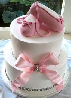 Pink Ballerina Cake (1254) by Asweetdesign, via Flickr