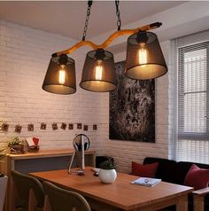 179.88$  Watch now - http://alitjh.worldwells.pw/go.php?t=32519255028 - Loft Style Rope Iron Droplight Edison Pendant Light Fixtures For Dining Room Hanging Lamp Vintage Industrial Lighting Lamparas