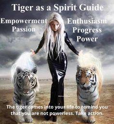 °Tiger as a Spirit Guide. I miss my friend, tiger Gamu, when I see tiger stuff. Animal Jaguar, Tiger Spirit Animal, Akiane Kramarik Paintings, Animal Spirit Guides, Power Animal, Artists For Kids, Animal Totems, Big Cats, Fantasy Art