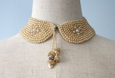 1950s Pearl Bead Collar
