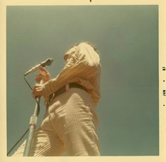 Rare Polaroid Photographs of The Doors Performing at Fantasy Fair and Magic Mountain Music Festival in 1967