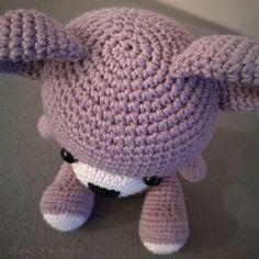Tr3troll: MÖNSTER NALLEBJÖRN Beret, Dinosaur Stuffed Animal, Crochet Hats, Dolls, Diy, Teddy Bear, Animals, Crochet Animal Amigurumi, Bear Patterns