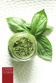 Basil Pesto, this one is the best recipe