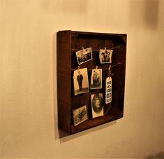 Fotokasten Memo Boards, Vintage Regal, Shops, Magazine Rack, Cabinet, Storage, Etsy, Furniture, Home Decor