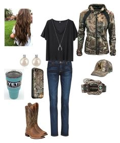 """""""I can't wait for Vegas❤️"""" by babyinblue on Polyvore featuring Hudson Jeans, R13, Walls, Ariat, M&F Western, Forzieri, Top of the World and LifeProof"""