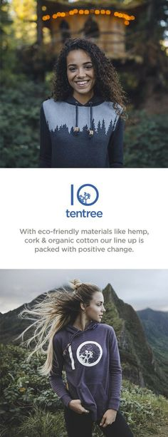 Yes, it's true. We plant ten trees for every tentree item purchased. With our tree registration program you can track the trees that you have planted and see how they are making a real-world difference. What you wear matters. With eco-friendly materials like hemp, cork & organic cotton our line up is packed with positive change.
