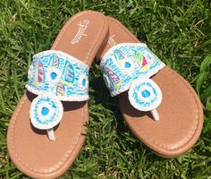 A personal favorite from my Etsy shop https://www.etsy.com/listing/446532220/hand-painted-sandals-inspired-by-jack