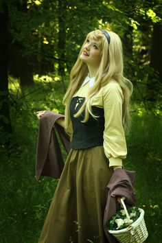 Aurora cosplay from Sleeping Beauty. #Disney