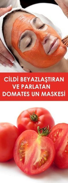 Domates Un Maskesi - Mask Making - Face Mask - Masquerade Mask - Mask Homemade Skin Mask, Making Faces, Homemade Skin Care, Diet And Nutrition, Natural Health, Health And Beauty, Hair Beauty, Cooking Recipes, Food