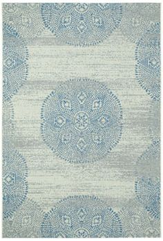 Finesse Mandala, brand new from @genevieve gorder, is the perfect addition to any outdoor space. #capelrugs