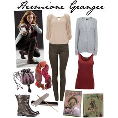 """""""Hermione Granger on the run"""" by kendralynnehaas on Polyvore"""