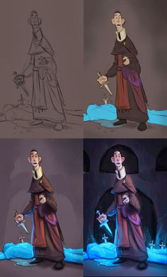 Art Process by Tyson Murphy