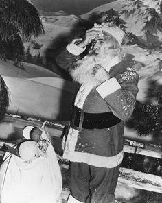 Bela Lugosi as Santa Claus c. Early 1940s