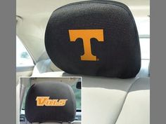 "University of Tennessee Head Rest Cover 10"""" X 13"""""