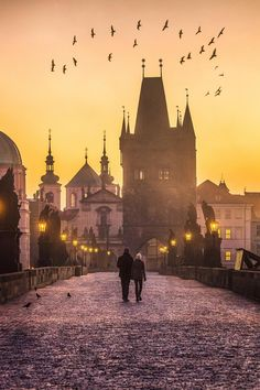 Today's picture comes from Beautiful Destinations. A glimpse of the early morning glow over the Charles Bridge in Prague, Czech Republic, is worth leaving the bed for.
