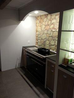 3d wandgestaltung stein dekorativ ideen innen, 36 besten küche mit steinwand bilder auf pinterest | stone walls, Design ideen