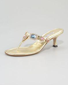 Cesabi Heel Sandal by Manolo Blahnik my favorite shoe designer.
