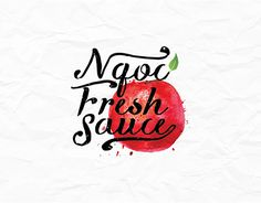 """Check out new work on my @Behance portfolio: """"Thiết kế Logo Ngọc Fresh Sauce"""" http://be.net/gallery/43684427/Thit-k-Logo-Ngc-Fresh-Sauce"""