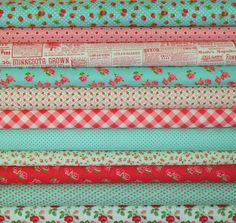 """Just adore this color combination.  Love everything from this etsy seller """"sewdeerlyloved"""":)"""