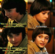 como ser louco com os amiguinhos Stranger Things Funny, Stranger Things Netflix, Saints Memes, Twilight Stars, Duffer Brothers, Couple Goals Relationships, Don T Lie, Movie Songs, Series Movies
