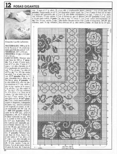 Crochet Bedspread, Crochet Tablecloth, Crochet Doilies, Filet Crochet, Needlepoint, Needlework, Cross Stitch, Embroidery, Floral