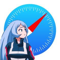 Safari, Mobile App Icon, App Anime, Application Icon, Anime Crafts, Iphone Icon, Homescreen, Animal Crossing, My Hero Academia