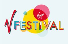 """London-based design studio Form has rebranded Virgin V Festival, working with signwriter Archie Proudfoot to develop a bespoke typeface for use across event's visual identity. The studio approached Archie to collaborate, aiming to bring the """"fairground and circus"""" feel of his work to the project, to """"reflect the celebratory feel of the festival"""". It will be used on everything from posters to signage and merchandise."""