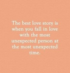 """55 Romantic Quotes – """"The best love story is when you fall in love with the Best Quotes Love Cute Quotes, Great Quotes, Quotes To Live By, Inspirational Quotes, In Love With You Quotes, Love Story Quotes, Falling In Love Quotes, Falling In Love With Him, Second Love Quotes"""