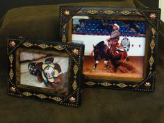 leather frames will be available at the national finals rodeo in vegas~ be sure to stop by !