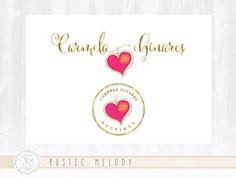 Photography Logo Design Heart Logo Boutique Logo Watercolor Logo Decor Logo Design Watermark