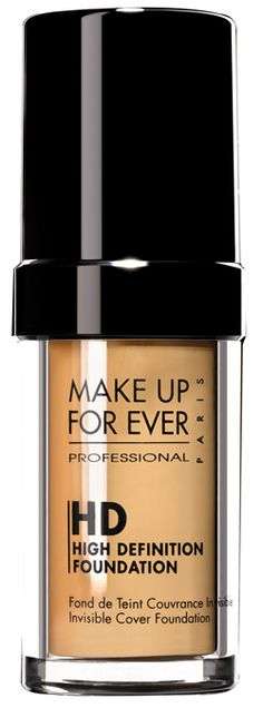 MAKE UP FOR EVER HD Invisible Cover Foundation I love this foundation, in my shade of course