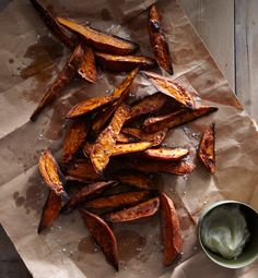 Sweet Potato Wedges with Lime Mayo