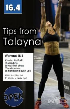 2016 CrossFit Open Strategy and Tips for 16.4