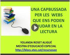 Activitats per educació especial, infantil i primària: Webs que ens poden ajudar en la lectura