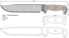 Чертежи ножей 10 вариантов (ст.11)