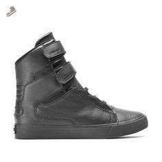 541cbbc0f51a9 Supra Women s Society II Black Black Red Athletic Shoe - Supra sneakers for  women