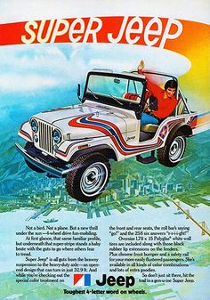 1973 Super Jeep - Promotional Advertising Poster