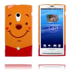 Happy Cartoon (Oransje) Sony Ericsson Xperia X10 Deksel
