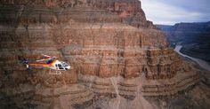 """Over the Edge Helicopter & Pontoon Boat Tour"" with Papillon Grand Canyon Helicopters, approx 60 minute tour, $240 USD per person mid-April 2015, includes meal."