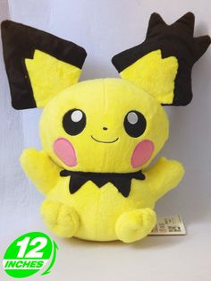 Pokemon Pichu 12-Inch Plush Doll $15.95