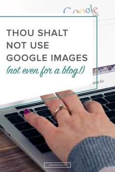 Thou shalt not use Google Images — Copyright is a federal law of the United States that protects original works of authorship. A work of authorship includes literary, written, dramatic, artistic, musical and certain other types of works. When in doubt, assume that the image is copyrighted – for your safety, and out of respect of the creator.