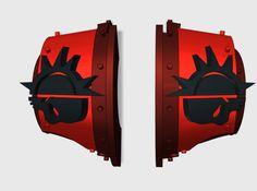 5x Dusk Raiders = Cataphractii Shoulder Sets 3d printed