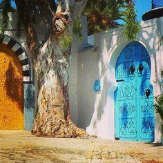 i-love-tunisia:      Sidi Bou Said, Tunisia.
